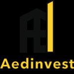 Aedinvest logo mobile